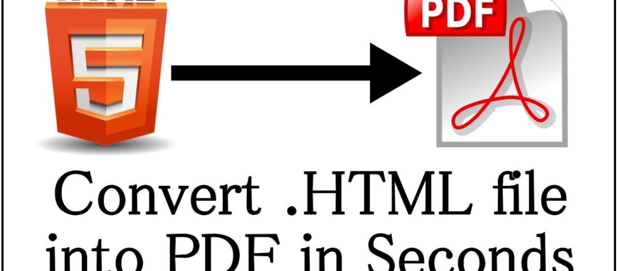 Simplifying HTML To PDF Conversion: The HTML To PDF Tool On PDFBear